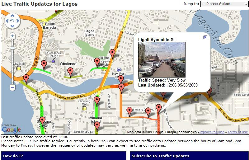 Google Maps Now Features Live Traffic Data For Nigerian Cities